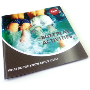 Booklet Fun Factory Analplay EN