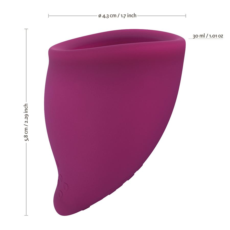 Kubeczek menstruacyjny Fun Factory duży B winogron